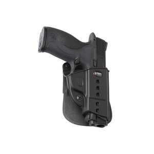 Fobus Evolution Roto-Paddle/Belt Holster CZ P-06/S&W M&P Right Hand Polymer Black SWMPRP