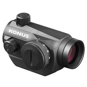 """Konus Pro Atomic-R 1x20mm Red Dot Sight 3 MOA Dot 7/8"""" and 3/8"""" Mounts Matte Black Finish"""