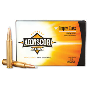 Armscor USA .300 Wby Mag Ammunition 20 Rounds PT 180 Grain