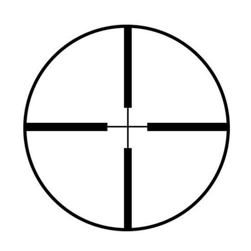 "Burris 2.75x20mm Scout Rifle Scope Heavy Plex Reticle 1"" 0.5 MOA Matte Black"