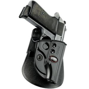 Fobus Evolution Holster Walther PP,PPK,PPKS Right Hand Paddle Attachment Polymer Black