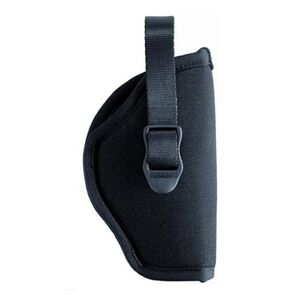 "BLACKHAWK! Hip Holster 3 1/2"" to 4 1/2"" Barrel Large Frame Autos, Right Hand, Open End, Black Nylon"