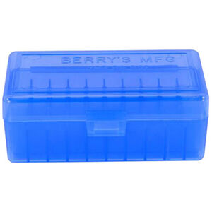 Berry's Ammo Box 50 Round .38 Spl/.357 Mag and Similar Blue