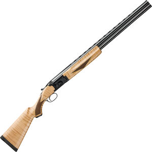 "Winchester Model 101 Deluxe Field 12 Gauge O/U Break Action Shotgun 26"" Vent Rib Barrels 3"" Chamber 2 Rounds Maple Stock and Forend Engraved Receiver Blued Finish"
