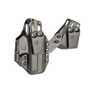 BLACKHAWK! Stache IWB Premium Kit Glock 48 / S&W Shield EZ Ambi Holster Polymer Black