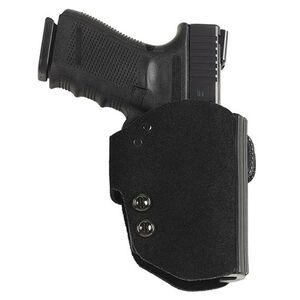 Galco Blakguard Belt Holster For GLOCK 17/22/31 Right Hand Leather/Polymer Black BG224B