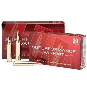 Hornady .243 Winchester Ammunition 20 Rounds V-Max 58 Grains
