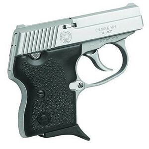 """North American Arms Guardian Semi Auto Handgun .32 ACP Caliber 2.185"""" Barrel 6 Rounds Black Rubber Grips Stainless Steel Finish"""