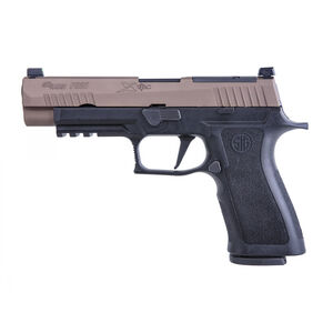 """SIG Sauer P320 X-VTAC Full Size Semi Auto Pistol 9mm Luger 4.7"""" Barrel 17 Rounds Optics Ready Day/Night Sights Polymer Frame Two Tone"""