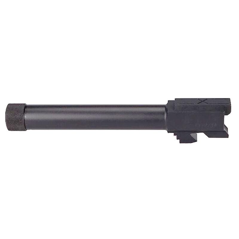 Faxon Barrel For GLOCK G17 Full-Size Gen 1-4 9mm SAAMI Steel Threaded Black GA910N17NGQ-T