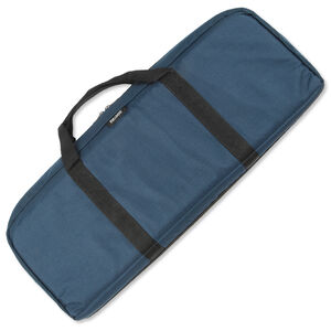 "Bulldog Cases Discreet Tactical Rifle Case 29"" Nylon Internal Magazine Pouches Soft Internal Padding Navy Blue BD475"