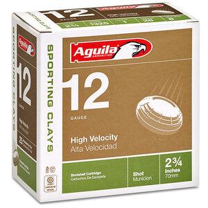 """Aguila Sporting Clays 12 Ga 2.75"""" #8 Lead 1.125oz 250 rds"""
