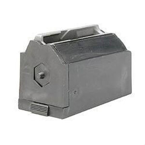 Ruger M77/22 Magazine .22 Hornet 6 Rounds Plastic With Steel Lips Black 90090