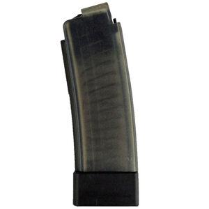 CZ-USA CZ Scorpion EVO 3 S1 20 Round Magazine 9mm Luger Polymer Construction Translucent Smoke Finish