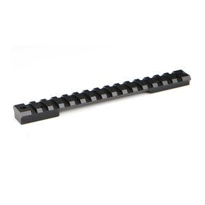 Warne XP Tactical Remington 700 Long Action 1-Piece Scope Rail Aluminum Black