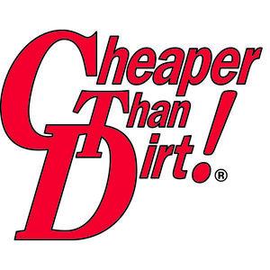 Cheaper Than Dirt vinyl patch