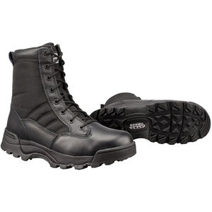"Original S.W.A.T. Classic 9"" Men's Boot Size 8 Regular Non-Marking Sole Leather/Nylon Black 115001-8"