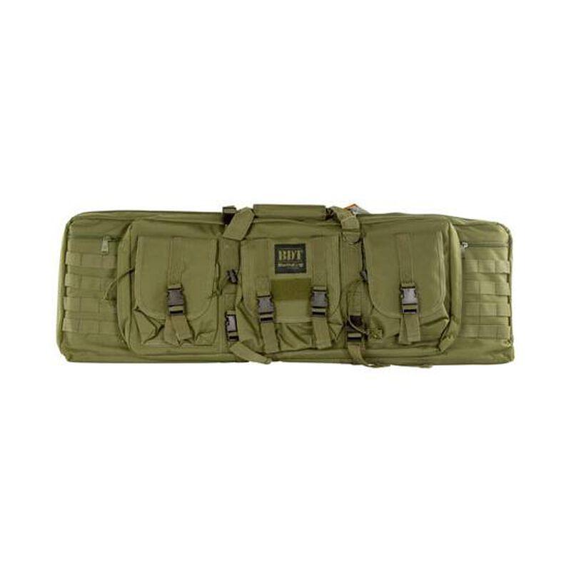 """Bulldog Tactical Single Rifle Case Polyester Canvas 37"""" Green"""
