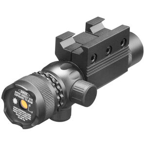 AIM Sports Pistol/Rifle Green Laser Sight with External Adjustments 500 Yard Range 5mW Black