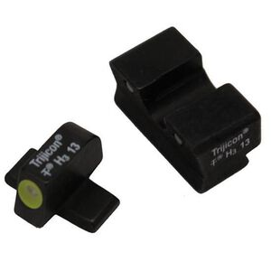 Trijicon SIG P220/P229 .40/.45 HD Night Sight Set Green Tritium with Yellow Outline Steel Black