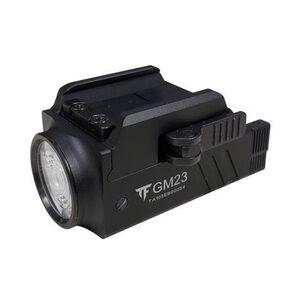 XTS XM-23 800 Lumen Pistol Flashlight QD Picatinny Rail Black