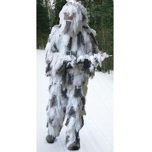 Red Rock Outdoor Gear Ghillie Suite 5 Piece Adult Medium/Large Snow Camo 70917M/L