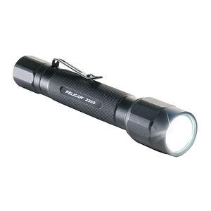 Pelican 2306B Handheld 375 Lumens LED AA Tail Cap Clip Aluminum Black