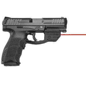 """H&K VP9 Semi Auto Pistol 9mm Luger 4.09"""" Barrel 10 Rounds Striker Fired 3-Dot Sights Crimson Trace Red Laser Polymer Frame Black Finish"""