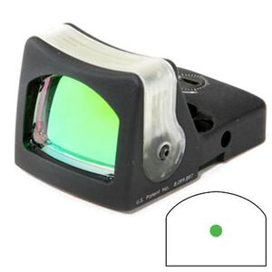 Trijicon RMR Reflex Sight Dual Illuminated Tritium/Fiber Optic 9 MOA Green Dot Reticle Aluminum Black RM05G