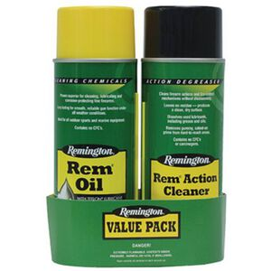 Remington Action Cleaner and Rem Oil Combo Package 18154
