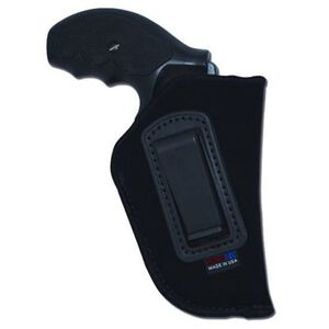 """GrovTec 36 2"""" Barrel J Frame 5 Shot Revolvers GT Inside the Pants Holster Right Hand Nylon Black"""