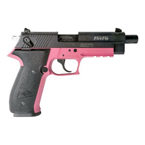 "ATI/GSG Firefly Semi Auto Pistol 22 LR 4"" Threaded Barrel 10 Rounds Polymer Frame Pink/Black"