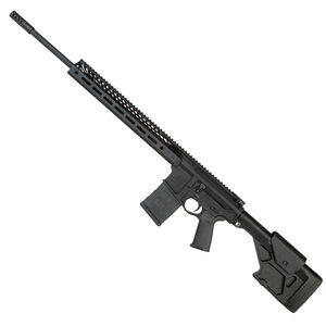 "Seekins Precision SP10 Semi Auto Rifle 6.5 Creedmoor 22"" Match Barrel 20 Rounds 15"" SP3R M-LOK Hand Guard ProComp 10X Adjustable Stock Matte Black"