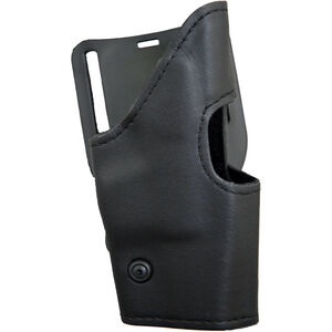 Safariland Model 295 Retention Duty Holster GLOCK 17, 19, 22, and 23, Mid-Ride, Right Hand, Nylon Look Black 295-83-261