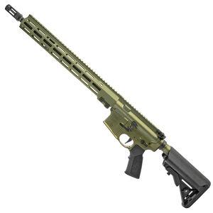 "Geissele Automatics Super Duty AR-15 Rifle 5.56 NATO 16"" Barrel  SMR MK16 Free Float Rail B5 SOPMOD 40mm Green"