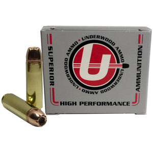 Underwood Ammo .50 Beowulf Ammunition 20 Rounds 350 Grain Hornady XTP JHP 1775fps