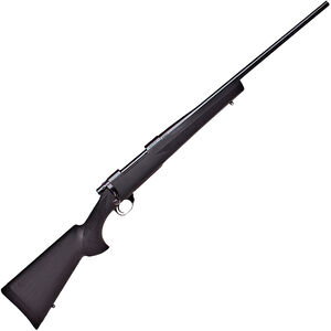 """Howa 1500 Hogue Standard Rifle .300 Win Mag Bolt Action Rifle 24"""" Barrel 3 Rounds Black Hogue Overmolded Stock Blued Finish"""