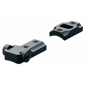 Leupold Standard Mounting System 2-Piece Scope Base For Remington Model 7 Mount Machined Steel Gloss Black