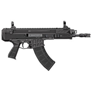 "CZ Bren 2 Ms 7.62x39 Soviet Semi Auto Pistol 9"" Barrel 30 Rounds Bren Magazine Compatible Aluminum Upper/Polymer Lower Matte Black Finish"
