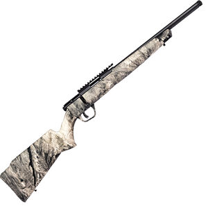 "Savage B17 FS-VR 17 HMR Bolt Action Rifle 16.5"" Heavy Barrel 10 Rounds Synthetic Stock Mossy Oak Overwatch Camo"