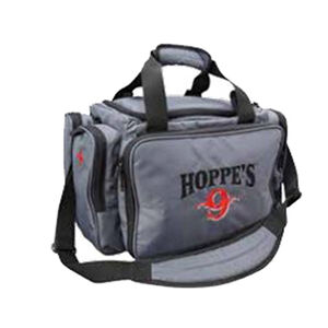 "Hoppe's Small Range Bag 600 Denier Ripstop Polyester 18"" x 10"" x 9.75"" Grey"