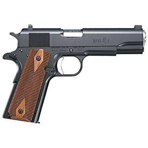 "Remington 1911R1 Commander Semi Automatic Pistol .45 ACP 4.25"" Barrel 7 Rounds Walnut Grips Black 96336"