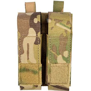 Grey Ghost Gear Double Pistol Magna Mag Pouch Laminate Nylon MultiCam