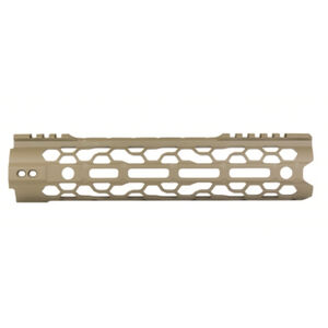 "ODIN Works AR-15 9.5"" M-LOK O2 Lite Free Float Forend FDE Finish"
