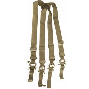 High Speed Gear Low Drag Suspenders Coyote Brown