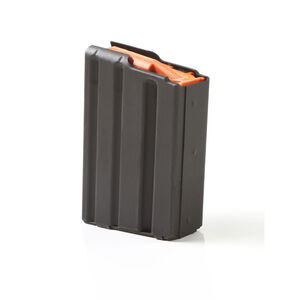 ASC AR-15 Magazine .223/5.56 5 Rounds Stainless Steel Black 5-223-SS-BM-O-ASC