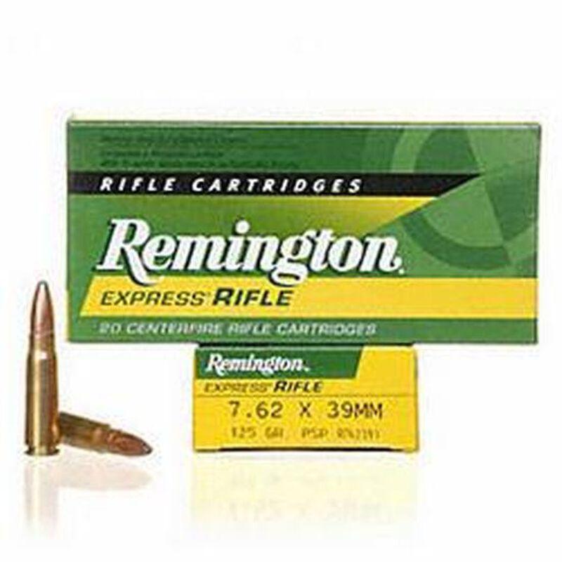 Remington Express 7.62x39mm Ammunition 20 Rounds Core-Lokt PSP 125 Grains R762391