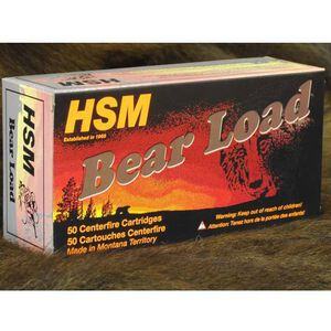 HSM Bear Load .454 Casull 325 Grain WFN 50 Round Box