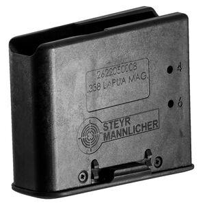 Steyr SSG 08 Series 6 Round Magazine .338 Lapua Magnum Polymer Matte Black