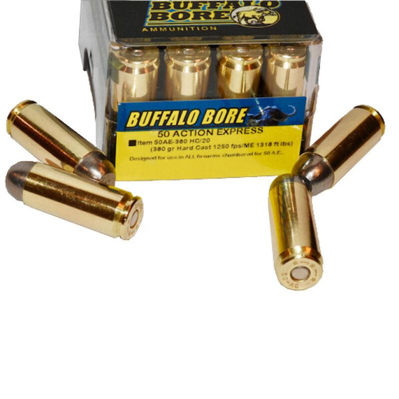 Buffalo Bore .50 AE Ammunition 20 Rounds FMJ-FN 300 Grains